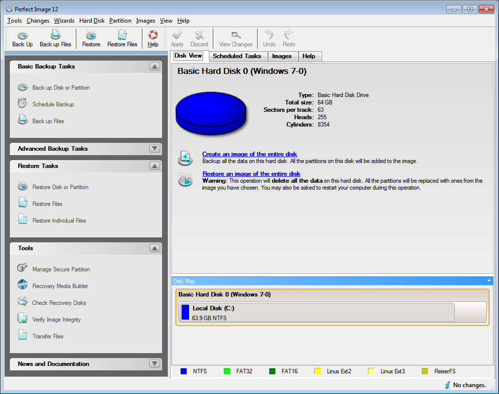 Perfect Image Backup Software for Windows   vcom